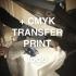 + transfer druka CMYK A4