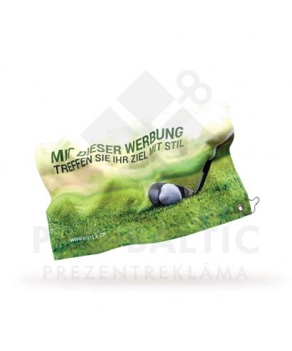 Golfa dvieļi 30x50 cm ar pilnkrāsu druku