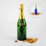 Šokolādes sirsniņas šampanieša pudelē 16Y007