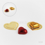 Metāla grāmatzīme ar šokolādes sirsniņu 16Y010