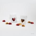Šokolādes sirsniņas mini kastītē 16Y013