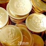 Šokolādes monēta 28mm ar logo