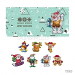 Ziemassvētku kartiņa ar šokolādi 17S060